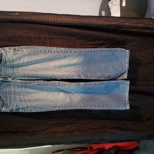 Levi's 529 bootcut jeans